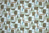 Hawaiian Upholstery Barkcloth Powder Blue Fabric