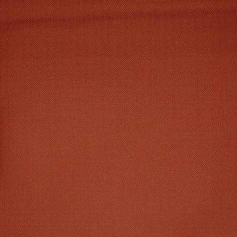 Rust Solid Poly Linen Fabric