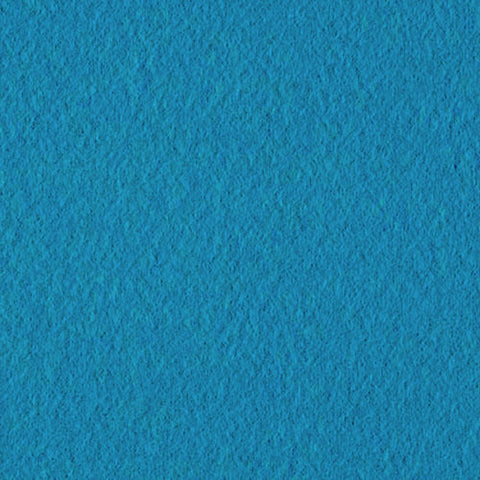 Turquoise Blue Solid Fleece Fabric