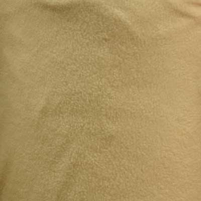 Beige Solid Fleece Fabric
