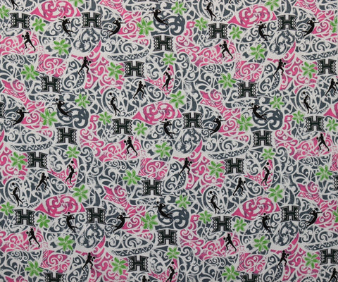 University of Hawaii Volleyball Fabric