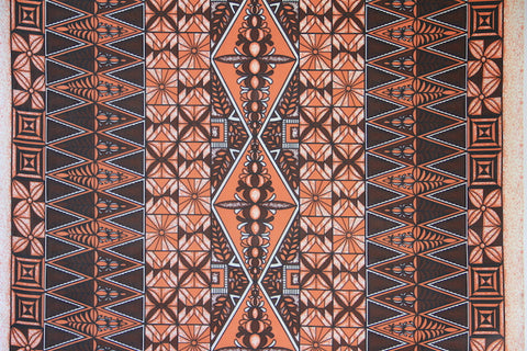 Fiji Orange Fabric