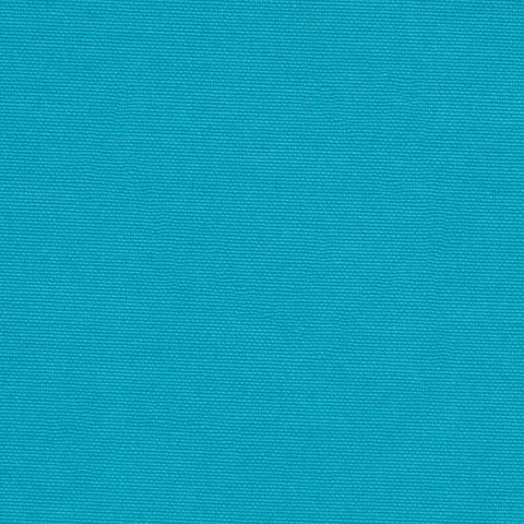 Turquoise Solid Poly Linen Fabric