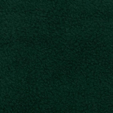 Hunter Green Solid Fleece Fabric