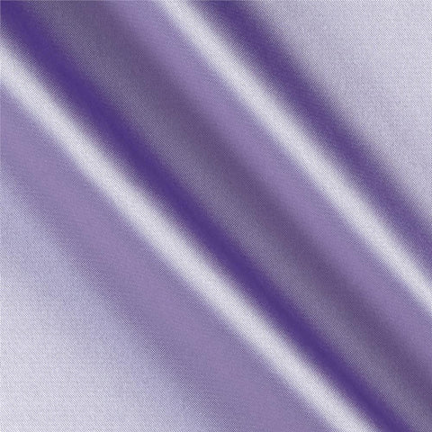 Lavender Solid Satin Fabric