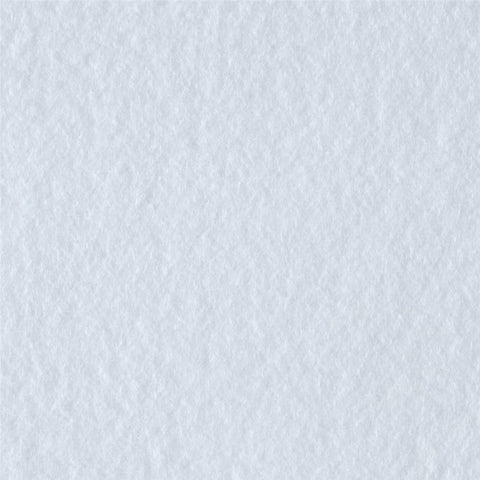 White Solid Fleece Fabric