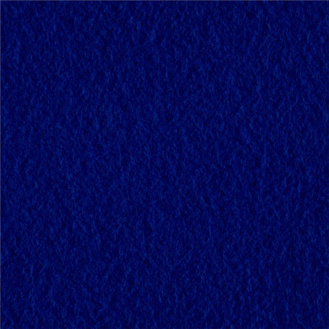 Royal Blue Solid Fleece Fabric