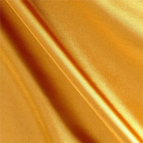 Light Gold Solid Satin Fabric