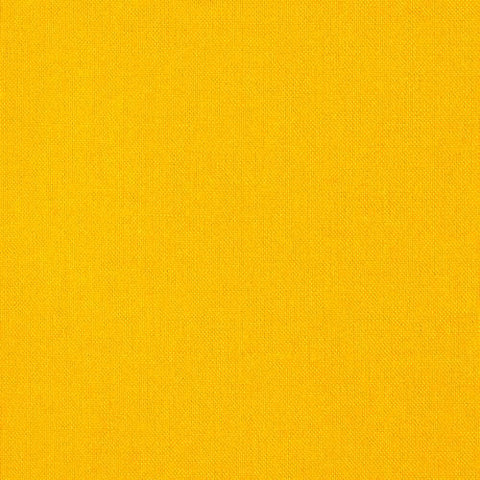 Yellow Solid Poly Linen Fabric