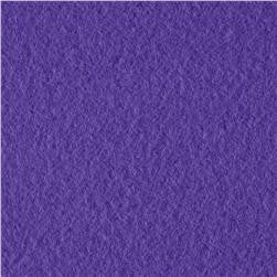 Purple Solid Fleece Fabric