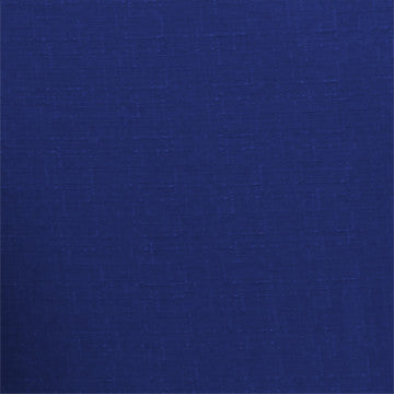 Navy Blue Solid Polyester Fabric