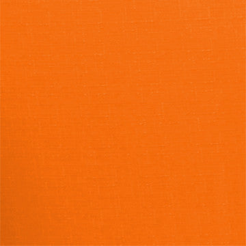 Orange Solid Polyester Fabric
