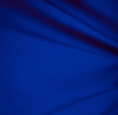 Royal Blue Solid Polyester
