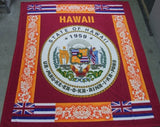Hawaii Fleece Blanket