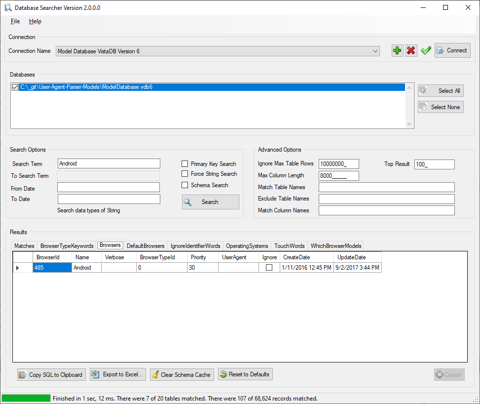 Kellerman Search SQL Server Database 1.12