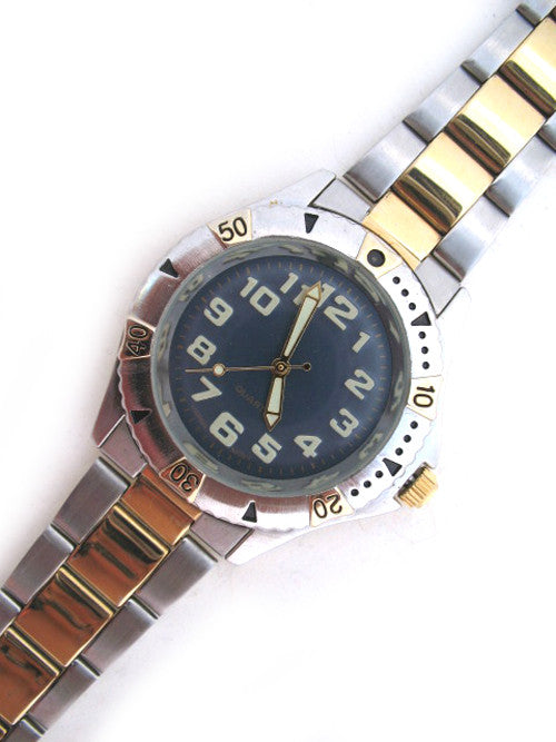 Mens Watches Navy Blue Wristwatch Watch For Men Stainless