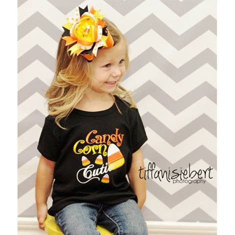 Candy Corn Cutie, Halloween Set for Girls