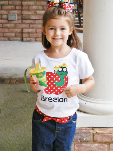 Preschool, Kindergarten, First Grade, Second Grade, Back To School Shirt,  Book Worm Applique Shirt