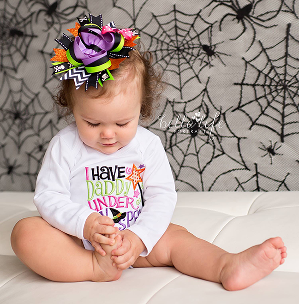 I have Daddy Under My Spell, Halloween Shirt for Girls