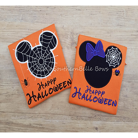 Mickey and Minnie Mouse Halloween Shirts