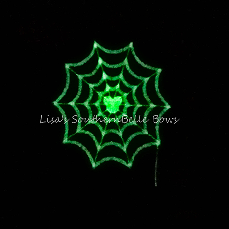 Glow in the Dark Minnie Mouse web