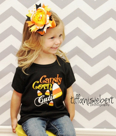 Size 2Y, Ready to Ship, Candy Corn Cutie