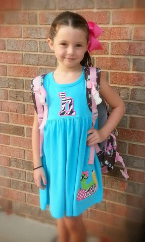 Preschool, Kindergarten, First Grade, 1st Grade, 2nd Grade, Back to School, Back to School Book Worm Dress