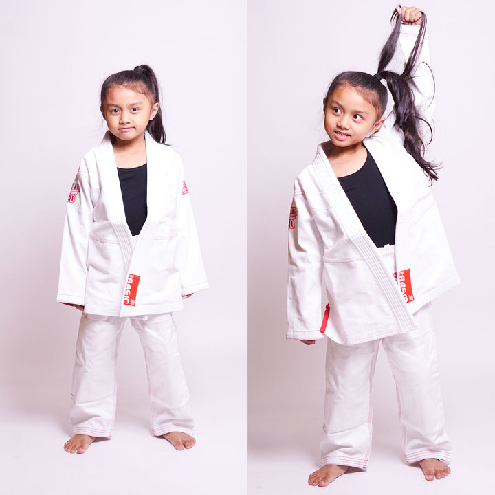 WANT VS NEED KIDS BASIC GI - WHITE
