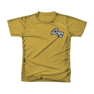JIU JITSU CLUB POCKET TEE - ANTIQUE GOLD
