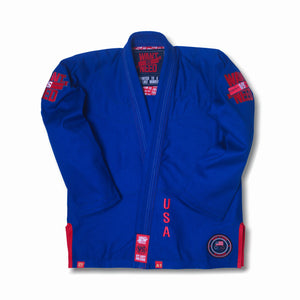 WANT VS NEED KIMONO SERIES 17 - ROYAL BLUE