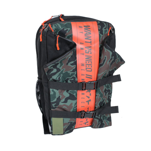 BACKPACK - BLACK CAMO
