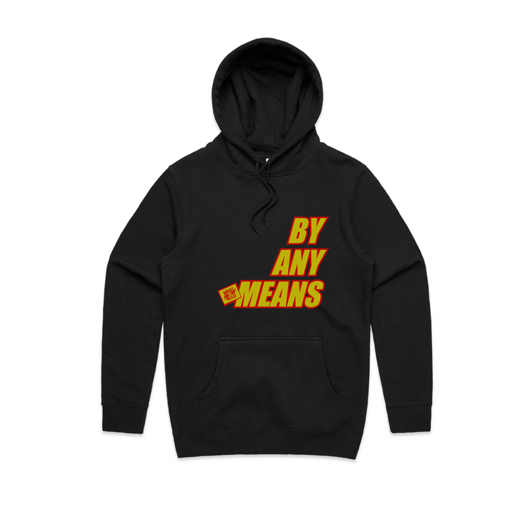 2019 BY ANY MEANS PULLOVER HOODIE - BLACK