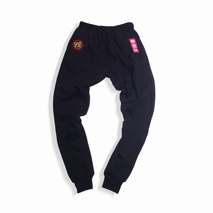 WANT VS NEED SWEAT PANTS - BLACK