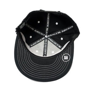 WANT VS NEED SNAPBACK - BLACK