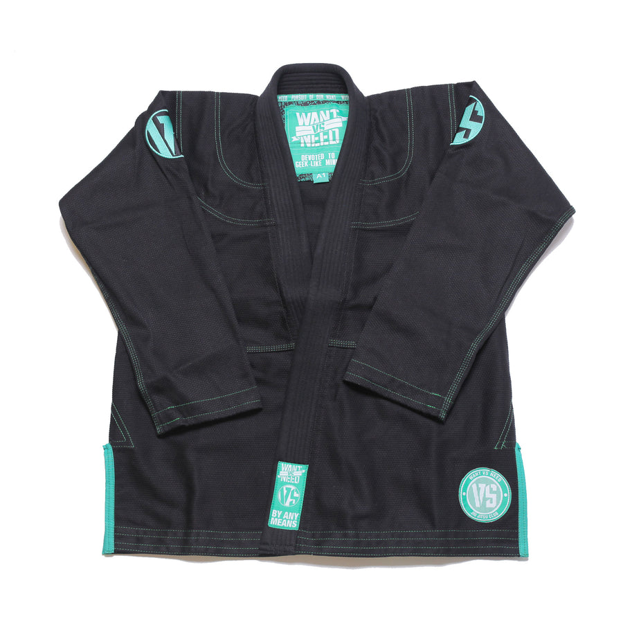 WANT VS NEED SERIES 8 KIMONO - BLACK