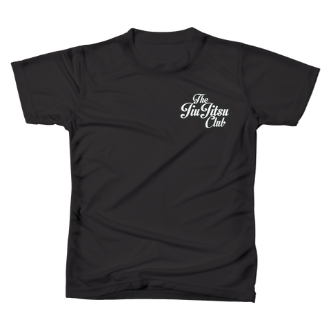 JIU JITSU CLUB POCKET TEE - BLACK