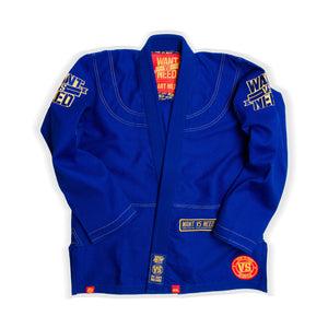 WANT VS NEED KIMONO SERIES 15 - ROYAL BLUE