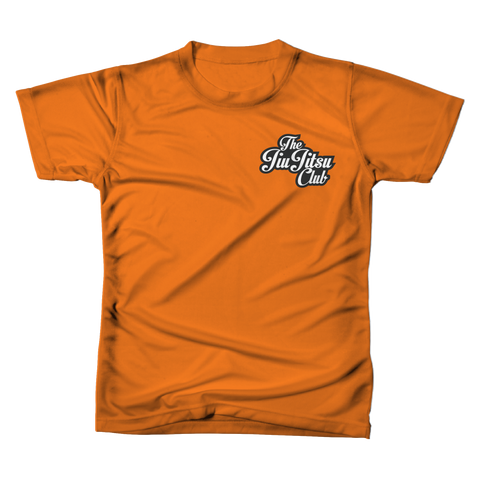 JIU JITSU CLUB POCKET TEE - CLASSIC ORANGE