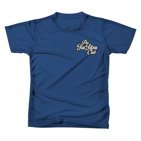 JIU JITSU CLUB POCKET TEE - COOL BLUE