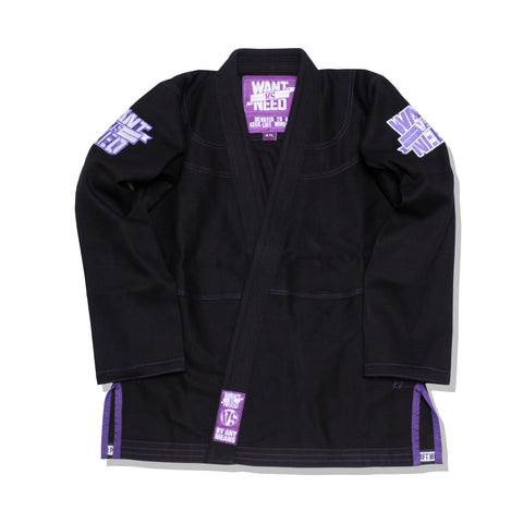 WANT VS NEED SERIES 10 KIMONO - BLACK
