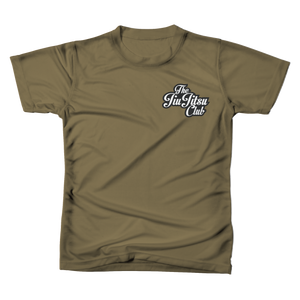 JIU JITSU CLUB POCKET TEE - MILITARY GREEN