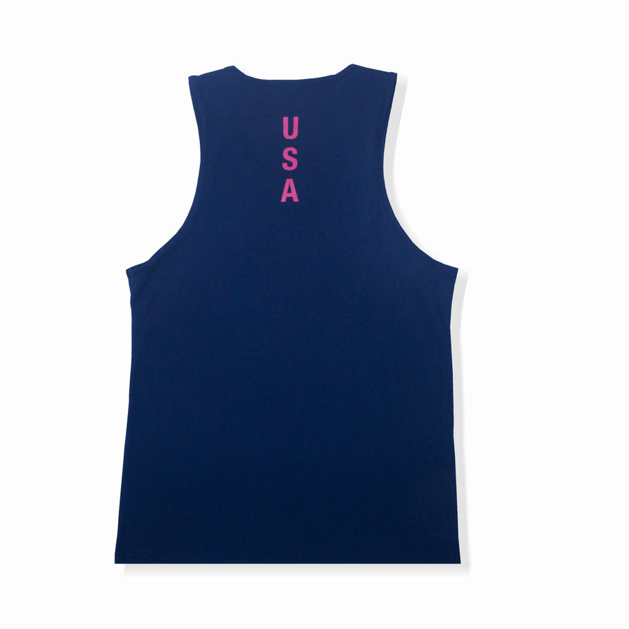 APOLLO TANK TOP - NAVY