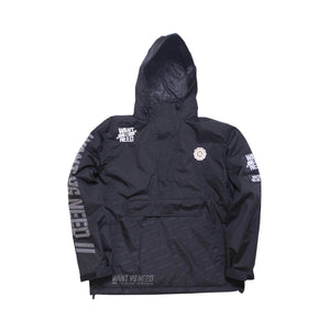 WANT VS NEED PURSUIT SPORTSWEAR JACKET - BLACK