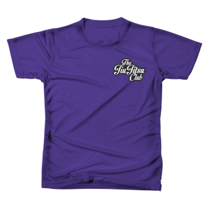 JIU JITSU CLUB POCKET TEE - PURPLE RUSH