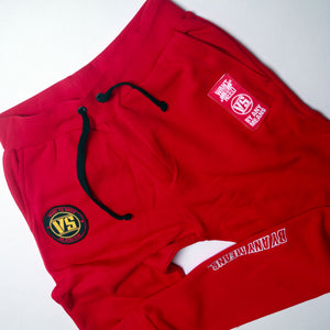 WANT VS NEED SWEAT PANTS - RED