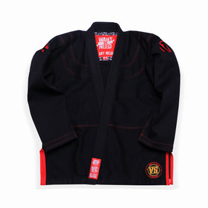 WANT VS NEED KIMONO RETRO SERIES 1 - BLACK