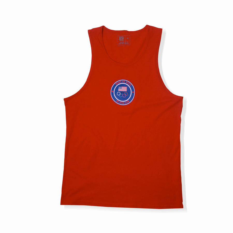 APOLLO TANK TOP - RED