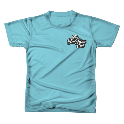 JIU JITSU CLUB POCKET TEE - TAHITI BLUE