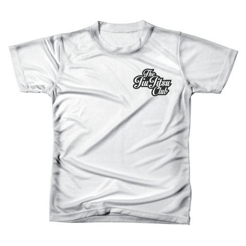 JIU JITSU CLUB POCKET TEE - WHITE