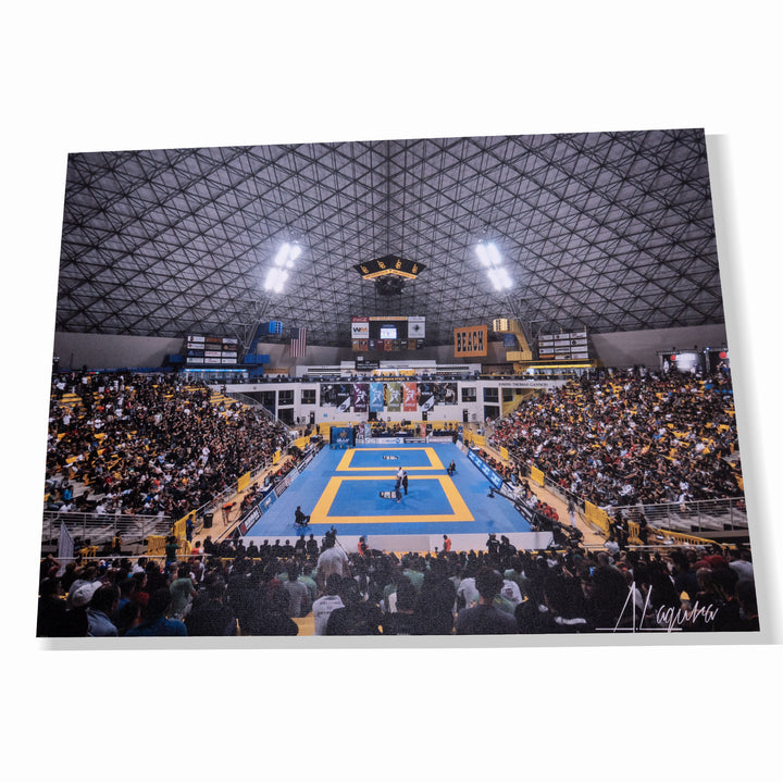 WORLD JIU JITSU CHAMPIONSHIP - CANVAS PHOTO